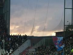 heaven over millerntor (fuisligo) Tags: hamburg fussball stadion himmel millerntor