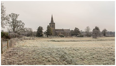 All Saints' Church. (Ian Emerson (Thanks for all the comments and faves) Tags: allsaintschurch mackworth derbyshire derby frost cold winter canon historic worship spire canon6d trees architecture outdoor