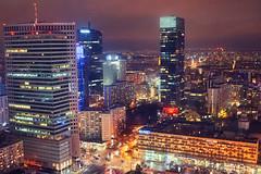 Warsaw (k-a-d-a-t-h) Tags: warsaw warszawa nightcity modern citylife urban