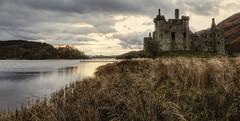 Castle at dusk (grahamd4) Tags: castle scotland locawe serene