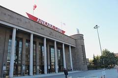 Ankara train station (Timon91) Tags: turkey turkei turkije türkiye turkiye turk train rail railway ray tcdd trein spoor zug eisenbahn bahn bahnhof spoorweg trem rails railways railroad doğu ekspresi turistik dogu express