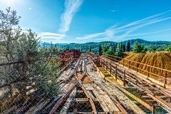 The Railway Line (George Plakides) Tags: kokkinoyiamine mitsero railwayline tracks abandoned