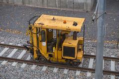The long story of the infamous O-Train. Work on new tracks, cable lines and new stations. (lezumbalaberenjena) Tags: otrain o train ottawa lezumbalaberenjena lrt light rail railway railroad