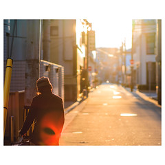 late autumn sunshine (hiww) Tags: street