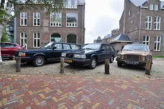 Volvos (Michiel2005) Tags: volvo car auto 240 940 polar 164 164e netherlands holland nederland leiden