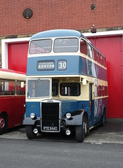 Preserved Ashton Leyland Titan PD2 Roe 44 PTE944C at the Museum of Transport Greater Manchester (Mark Bowerbank) Tags: preserved ashton leyland titan pd2 roe 44 pte944c museum transport greater manchester