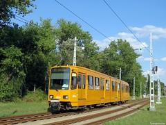 A 62-es villamos a Fehér úton (Torontáli Krisztián) Tags: villamos vehicle bkv railroad tram tramway transport streetcar strassenbahn tw6000 budapest outdoor kőbánya