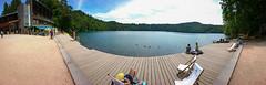 DSC_0059-2 (schoolartBYschoolboy) Tags: auvergne puydedome lake pier forest vulcan