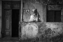 IMG_7997 (Shiv 'n) Tags: blackwhite oldman pondicherry puducherry ppc portrait street