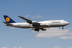 D-ABYC (PlanePixNase) Tags: frankfurt fra eddf airport aircraft planespotting boeing 747 7478 jumbo b748 748