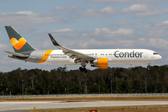 D-ABUA (PlanePixNase) Tags: frankfurt fra eddf airport aircraft planespotting boeing 767300 767 b763 condor 763