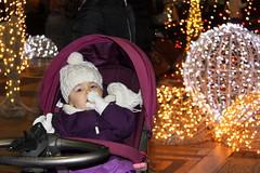 Hurry Up, Santa! (JULIANA LEFTEROVA) Tags: baby christmasdecoration bokeh winter christmastime urbanexploring festiveseason portrait streetphotography