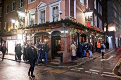 Brewer Street, Soho (I M Roberts) Tags: brewerstreet soho theoldcoffeehouse streetscene centrallondon w1 fujix100s