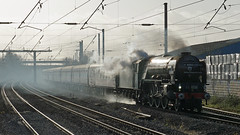 60163 'Tornado' - Biggleswade (Neil Pulling) Tags: tornado steamlocomotive ecml biggleswade steam 60163 a1pacific railway uk england lner
