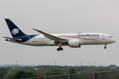 N782AM (PlanePixNase) Tags: london heathrow lhr egll planespotting airport aircraft aeromexico boeing 7878 b787 787 b788 788