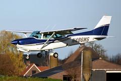 N486MS Cessna 172RG Cutlass @ Teuge 30-Nov-2019 by Johan Hetebrij (Balloony Dutchman) Tags: n486ms cessna 172rg cutlass rg 172 c172 ehte teuge airport aircraft 2019