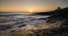 Howick Bathing House (ianbrodie1) Tags: howick bathing house northumberland northeast leefilters nikon coast coastline sunrise longexposure sun sea seascape ocean