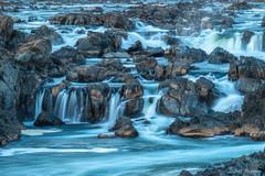 Rocks & Water (jiroseM43) Tags: greatfallsnationalpark potomacriver waterfalls omdem1markii em1markii lumixgvario35100f28 river olympus m43