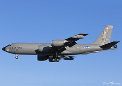 USAF KC-135R 62-3551 (birrlad) Tags: mildenhall raf base mhz aircraft aviation airplane airplanes arrival arriving approach finals landing runway usaf force military boeing refueller tanker kc135 kc135r airbase airforce stratotanker 623551