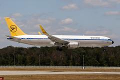 D-ABUM (PlanePixNase) Tags: frankfurt fra eddf airport aircraft planespotting boeing 767300 767 b763 condor 763
