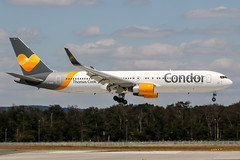 D-ABUH (PlanePixNase) Tags: frankfurt fra eddf airport aircraft planespotting boeing 767300 767 b763 condor 763