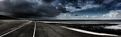 dramatic sky (Jos Mecklenfeld) Tags: huisduinen northsea nordsee noordzee noordholland nederland niederlande netherlands dike deich dijk wolken clouds sky dramtic
