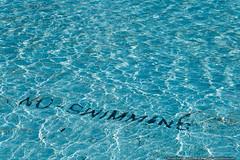 No Swimming (mhoffman1) Tags: logansquare phila philadelphia philly sonyalpha swannmemorialfountain swimming warning water pennsylvania unitedstatesofamerica