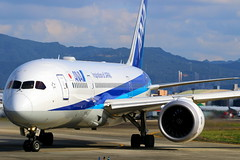 ANA 全日空 Boeing 787-8 JA802A (Manuel Negrerie) Tags: ana 全日空 boeing 7878 ja802a trent engines airport design aviation planes airplanes spotting tsa songshanairport livery japan taipei 台北國際松山機場 787 dreamliner avgeeks closeup cockpit technology rollsroyce jetliner airliner composite