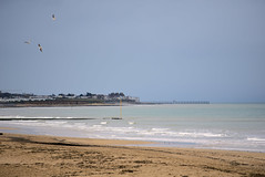 See (Mojinius) Tags: sea beach water sand normandie calvados france seascape landscape