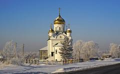 Church in Sannikovo (znamenshchikov) Tags: sannikovo barnaul altai altay 2019 architecture orthodox church religion winter snow cold sonya7r helios44m4 ilce7r siberia russian