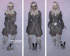 The Trench (Fubbydover Peapod) Tags: catwa maitreya avatar fashion nightlook thelook hair outfit earrings jewelry secondlife sl model daylook winterlook trenchcoat coat winter blog fashionista