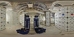 Space Shuttle Mid-Deck area (DMolybdenum) Tags: space shuttle discovery mid deck 360 panorama nasa