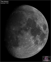 The Moon – December 7, 2019 (The Dark Side Observatory) Tags: tomwildoner night sky space outerspace skywatcher telescope esprit 120mm apo refractor celestron cgemdx zwo astronomy astronomer science crater moon lunar weatherly pennsylvania observatory darksideobservatory solarsystem earthskyscience asi071mcpro december 2019