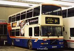 Dublin Bus RV412 (98D20412). (Fred Dean Jnr) Tags: dublin january2003 bus dublinbus busathacliath dublinbusbluecreamlivery volvo alexander rh olympian dbrook donnybrook dublinbusdonnybrookgarage rv412 98d20412 1127 r974kar