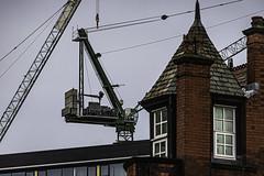 Counter balance (tootdood) Tags: canon6dmkii manchester chapelstreet counter balance crane weights