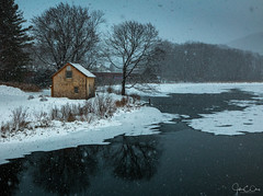 Moody Morning (John Clay173) Tags: newengland winter reflection berkshires massachusetts ma lenox jclay snow