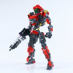 Red01 (LEGO DOU Moko) Tags: lego legomech legomecha legomoc mecha mech