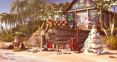 Santa takes a break (NatG loving the light) Tags: beedesigns bliensenmaitai boutique187 chezmoi cinoe dad duvetday fameshed fundati kidd kraftwork serenitystyle studiosky thearcade theliaisoncollaborative thor tlc