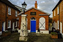 Almshouses in Chatham (ianbartlett) Tags: outdoor 365 people landscapes river boats water gulls birds nature castle cathedral rochester chatham streetart swans shadows reflections windows cranes