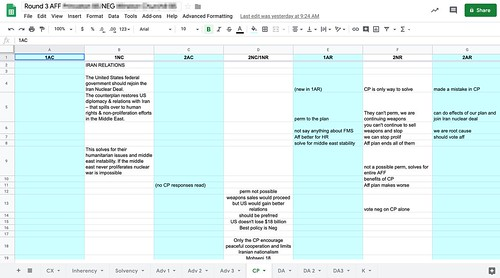 Debate Flow in Google Sheets by Wesley Fryer, on Flickr