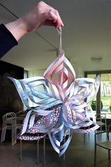 Seasonal Crafts (camerapoetry) Tags: paper papercraft star seasonalcrafts creative whitworthartgallery manchester england uk art arts4goodhealth artclasses