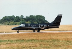 OY-ONE (IndiaEcho) Tags: aircraft airport aviation aeroplane airfield east ema cessna midlands citation 501 egnx oyone