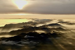 Above ll (fxdx) Tags: above mountains sky clouds sun sunset fz1000