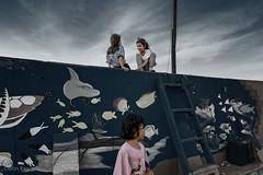The Wall - Slums of Jakarta (Collin Key) Tags: poverty indonesia children jakarta slum jakartahiddentour girls nordjakarta indonesien