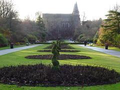 St Machar Cathedral from Seaton Park, Aberdeen (iainh124a) Tags: iainh124a scotland aberdeen uk sony sonycybershot dschx95 dschs95 cybershot dx95