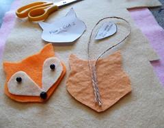 Seasonal Crafts (camerapoetry) Tags: felt feltcraft string fox creative whitworthartgallery manchester england uk art arts4goodhealth artclasses seasonalcrafts