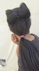 Bow bun hairstyle  Low ponytail  Hair bun  #hair #style #stylish #longhair #nice #hairstyle #fashion #beautiful #beauty #model #modern #sexyhair #bun #bowbun #bigbun #ponytail #haircut #perfect  تسريحة الفيونكة  تسريحة الوردة  تسريحة ذيل الحصان المنخفضة (Hair.styles) Tags: beautiful beauty fashion modern hair longhair style ponytail haircut nice model perfect hairstyle bun stylish sexyhair bigbun bowbun