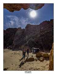 Webbed (obypix) Tags: lagos portugal cave nature pixel pixel3a smartphone travel web
