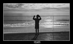 To the sea (obypix) Tags: travel vacation portugal smartphone pixel pixel3a people blackandwhite bw monochrome kids
