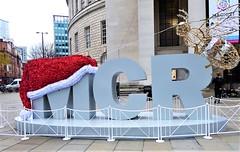 Manchester (penelopephotoshop) Tags: manchester centrallibrary sculptures statue strart urbanenvironment urban urbanlandscape citycentre christmas